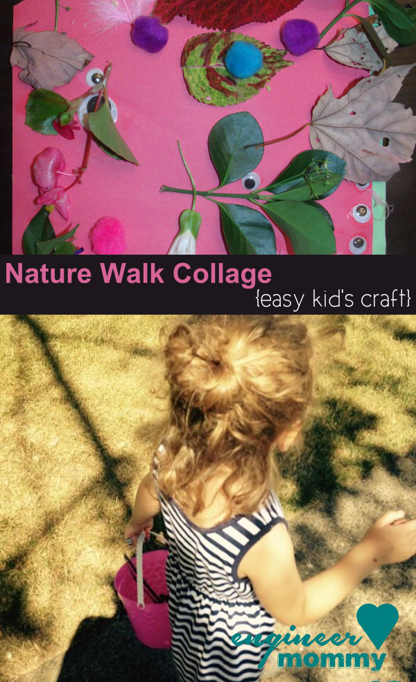 Nature Walk Collage {easy kid's craft}