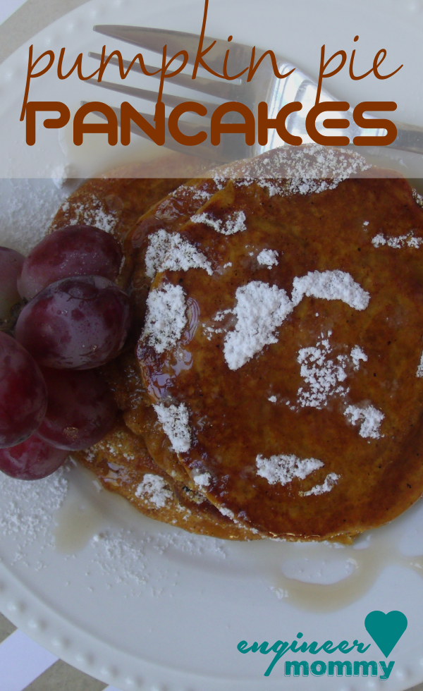 Pumpkin Pie Pancakes Recipe