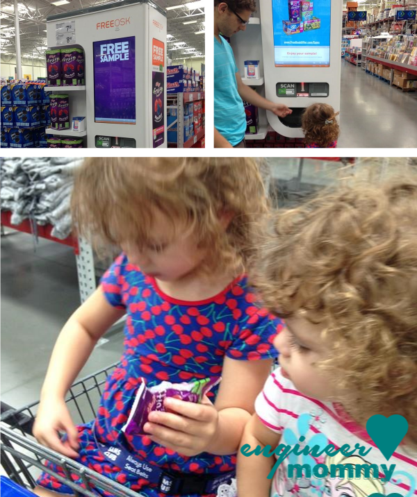 Sampling Kellogg's Products at Sam's Club