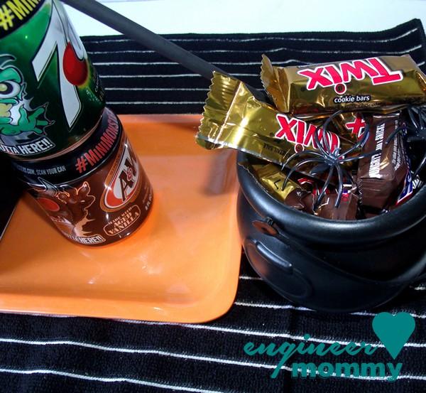 Candy-filled cauldron