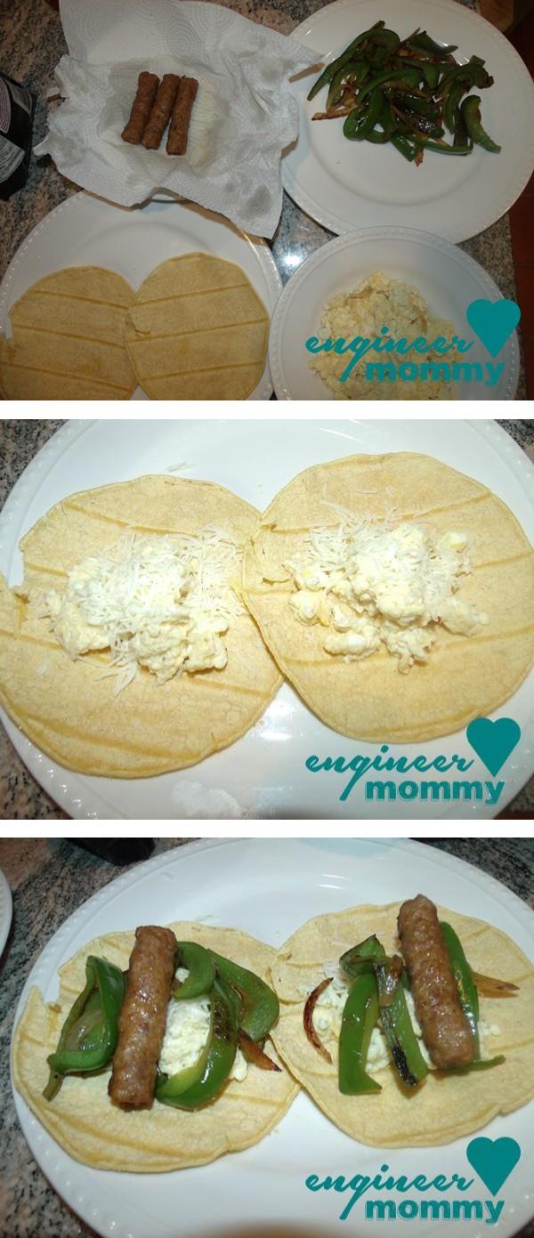 Tailgater's Breakfast Burrito