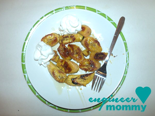 Caramelized Plaintains