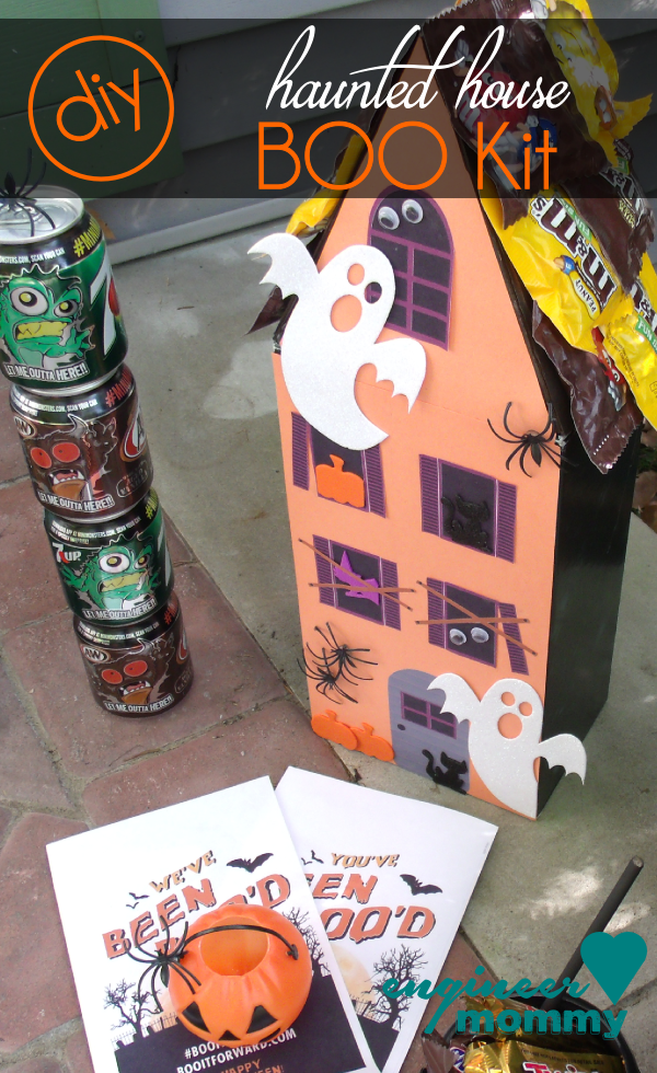 DIY Haunted House BOO Kit
