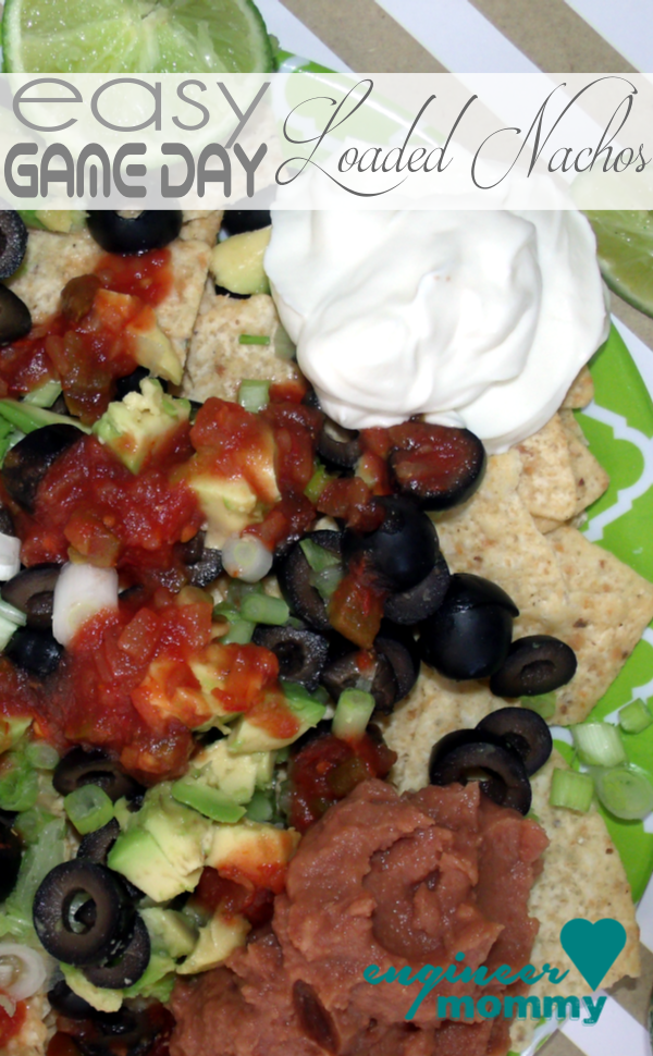 Easy Game Day Loaded Nachos
