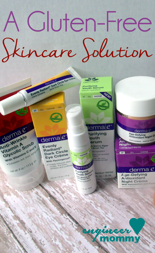 A Gluten-Free Skincare Solution