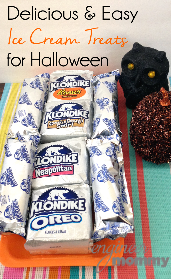 Delicious and Easy Ice Cream Treats for Halloween