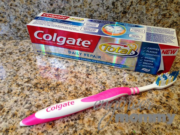 Colgate Total® Daily Repair™ toothpaste