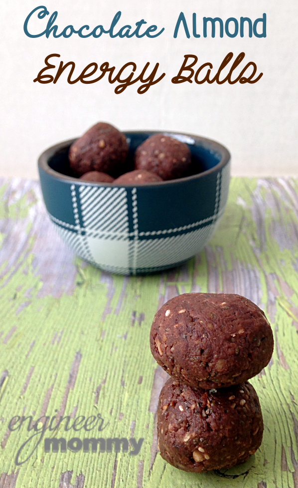 Chocolate Almond Energy Balls