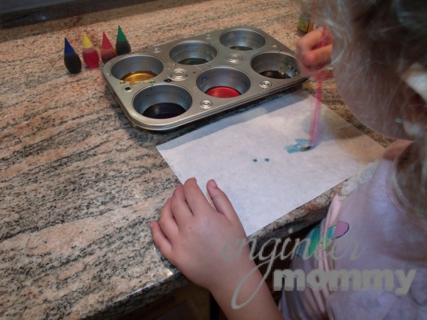 Homemade Glossy Paints for Kids