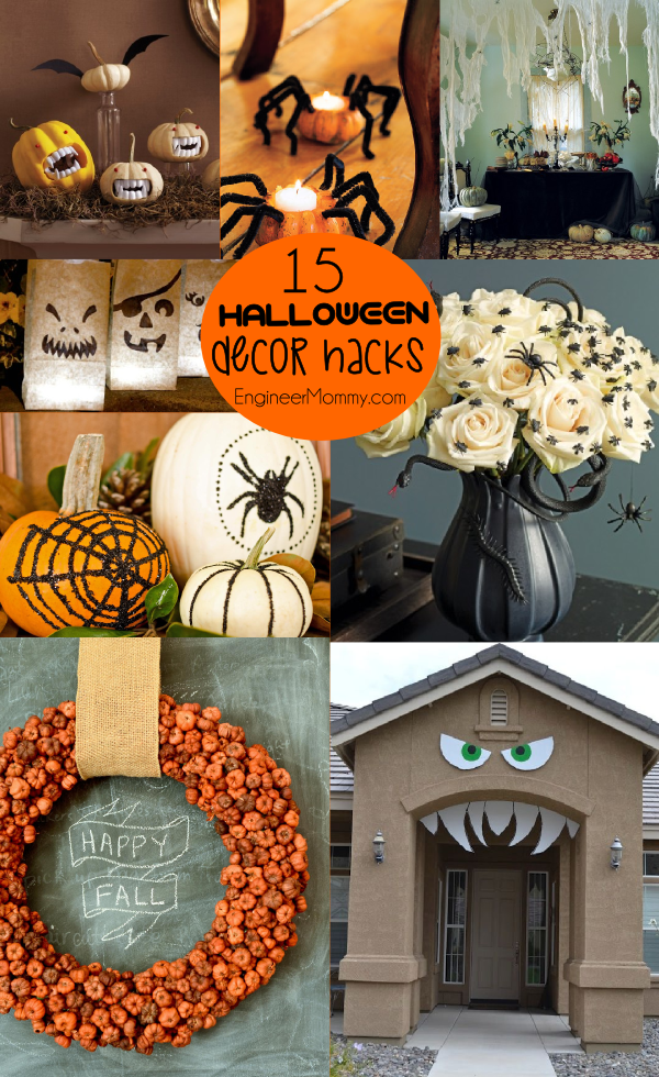 15 Genius Halloween Decor Hacks