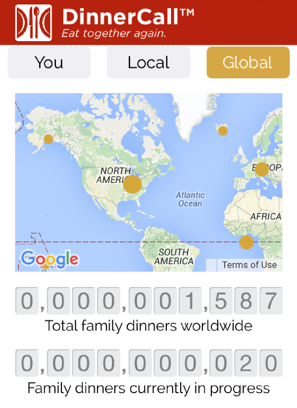 Keeping Track of Total Family Dinners