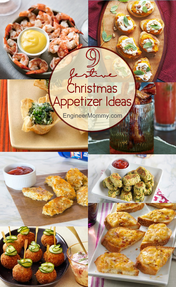 Christmas Party Hors D Oeuvres Ideas Part - 44: 9 Festive Christmas Appetizer Ideas. 9 Festive Christmas Appetizers