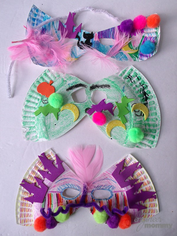 DIY Masks {a kid's craft}