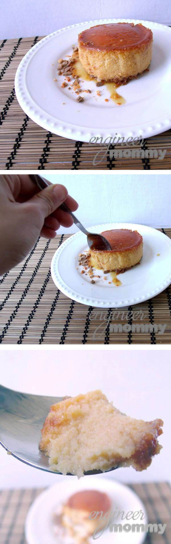Tasting the BUTTERFINGER® Flan