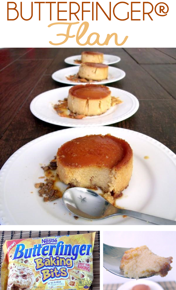 BUTTERFINGER® Flan and a Delicious, Time-Saving Thanksgiving Meal