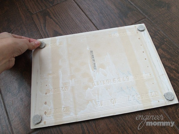 DIY Tile Tray Assembly
