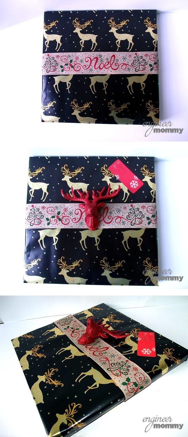 Gift wrapping technique