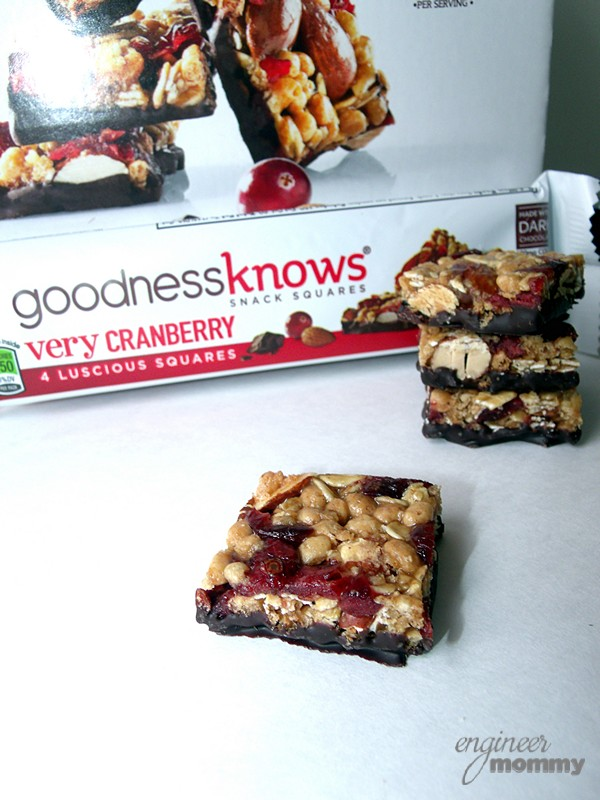 goodnessknows® snack squares