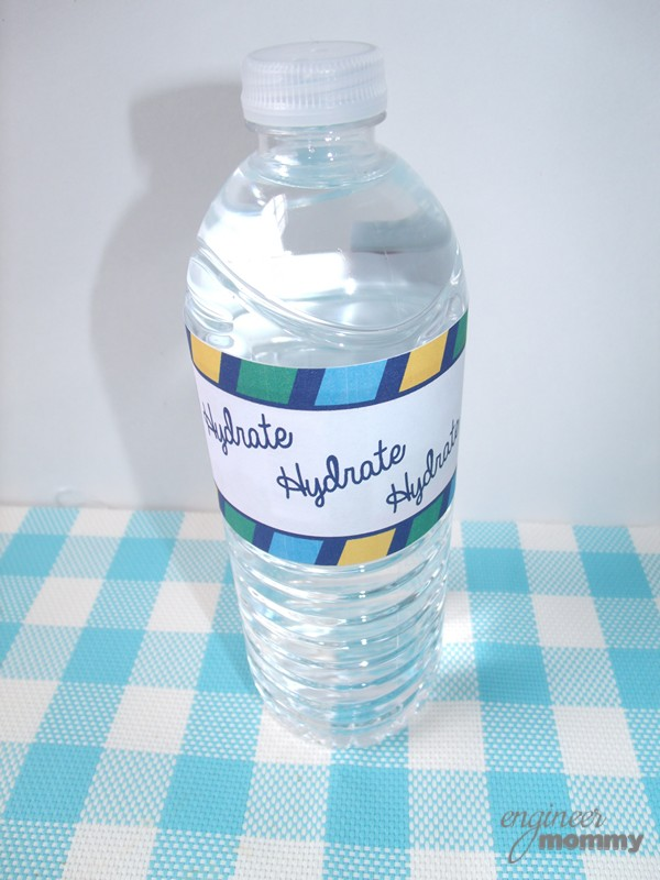 Wrapped Water Bottle
