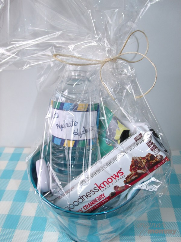 Fitness Motivation Basket