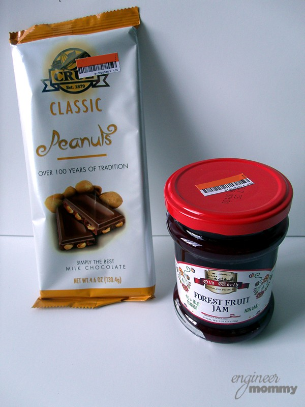 Jam & Chocolate from Big Lots