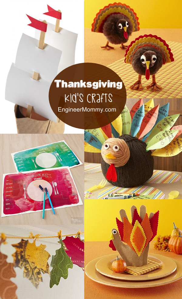 Thanksgiving Kid's Crafts