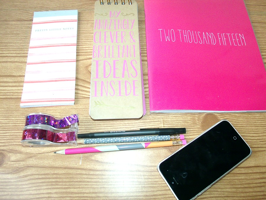 My Everyday Essentials to Stay Organized