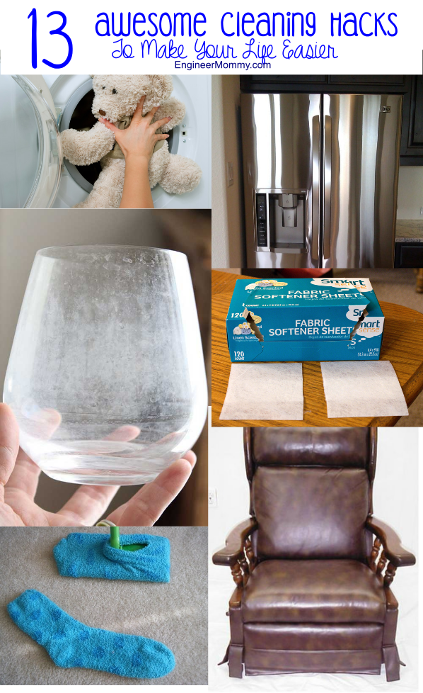13 Awesome Cleaning Hacks