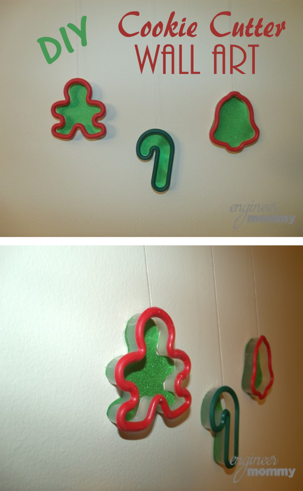 Cookie Cutter Wall Art for Christmas