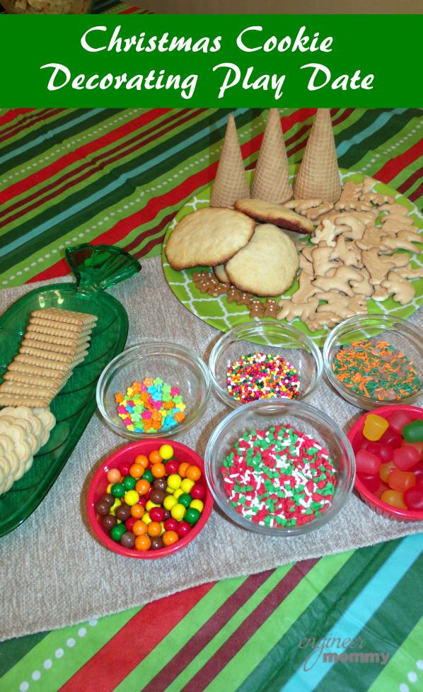 Playdate Idea: Christmas Cookie Decorating