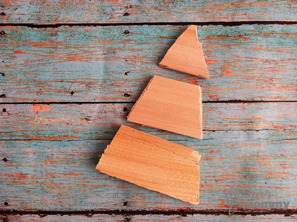 DIY Cedar Shim Tree Ornament