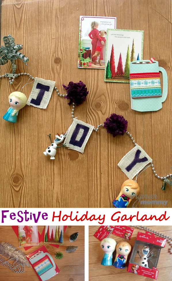 Festive Holiday Garland