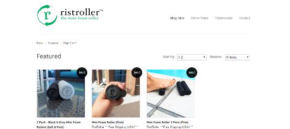 Purchasing a Mini Foam Roller