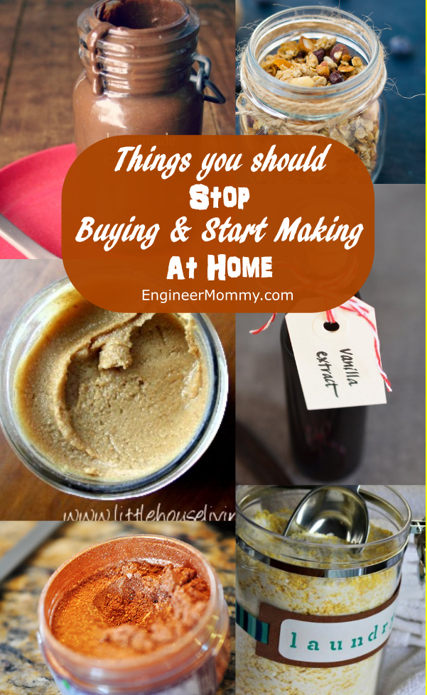 Things You Should Stop Buying & Start Making at Home
