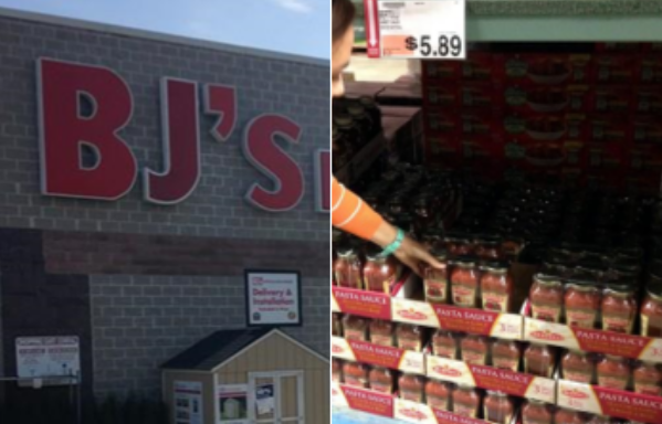 Shopping at BJ's