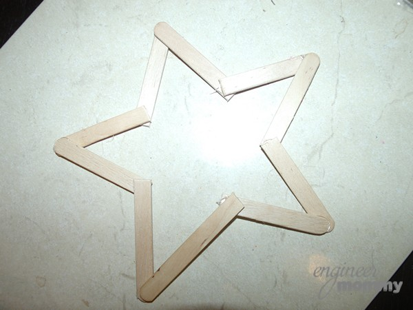 DIY Ornaments: Twine Wrapped Star