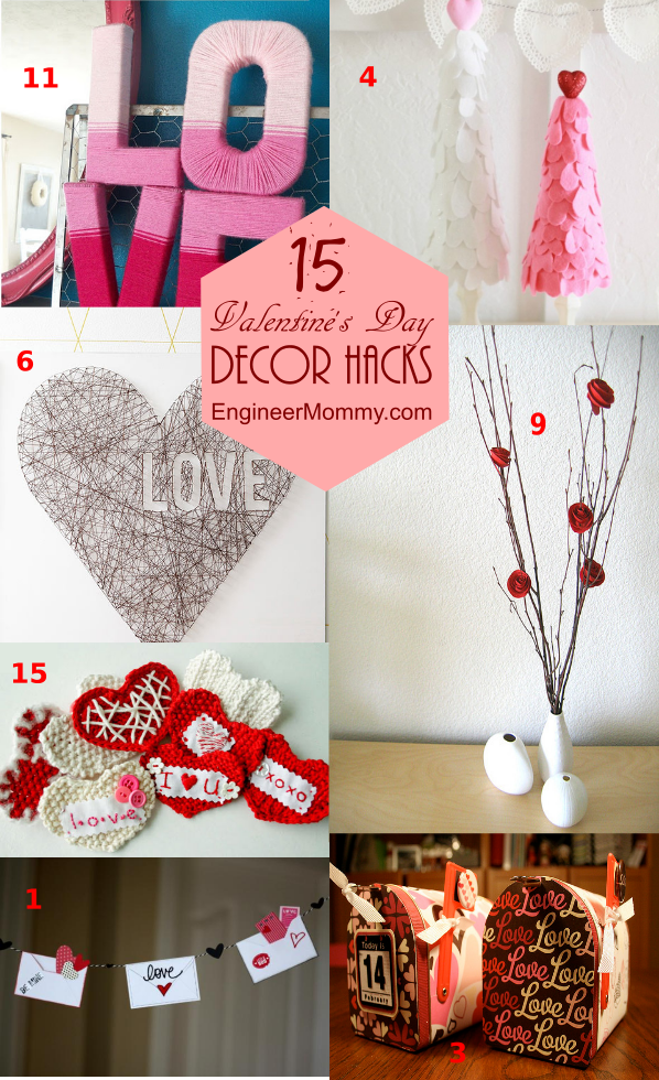 Valentine's Day DIY Decor Hacks