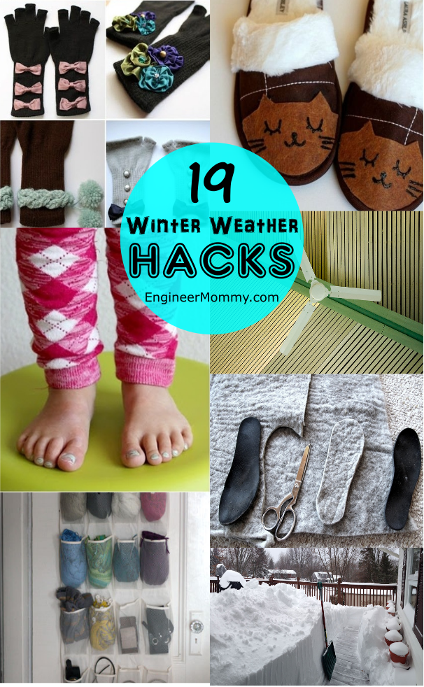 19 Winter Weather Hacks