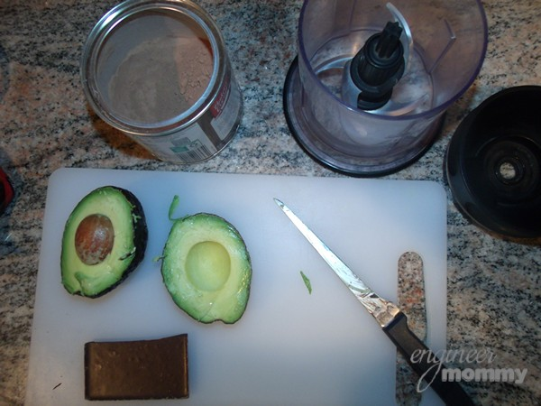 Healthy Chocolate Avocado Shake