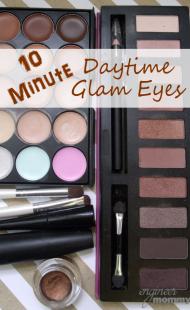 10 Minute Daytime Glam Eyes
