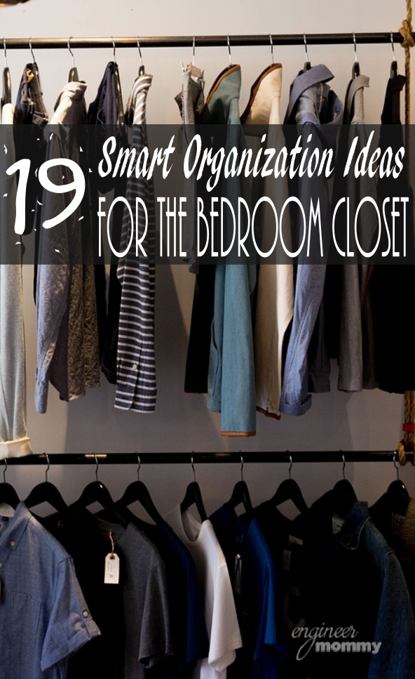 19 Smart Organization Ideas for the Bedroom Closet