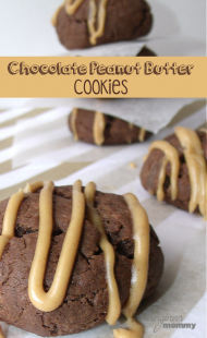 Easy Chocolate Peanut Butter Cookies