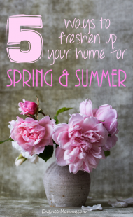5 Ways to Freshen Up Your Home for Spring & Summer