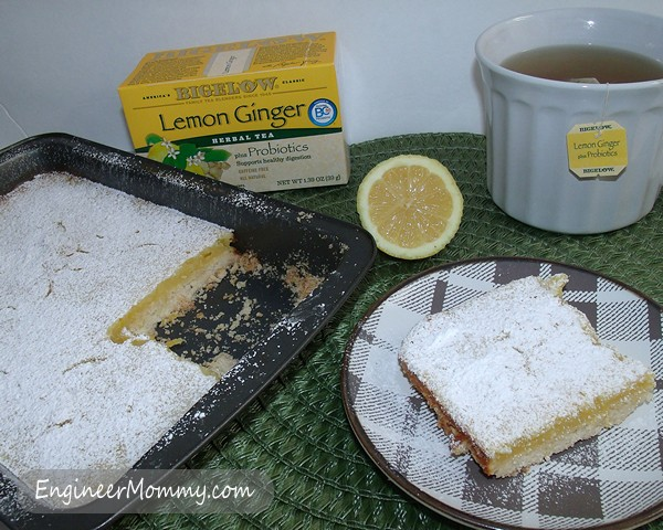 Lemon Ginger Bars