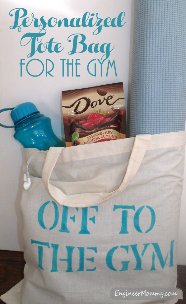 Personalized Tote Bag for the Gym