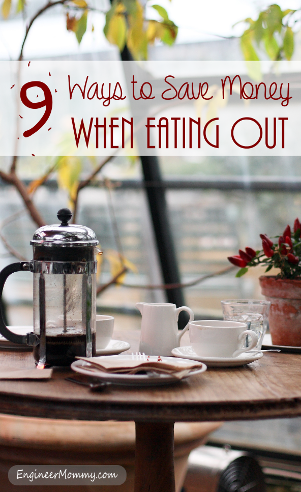 9 Ways to Save Money Eating Out