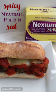 Spicy Meatball Parm Sub