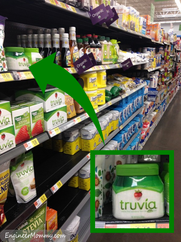 Finding Truvia Spoonable at Walmart