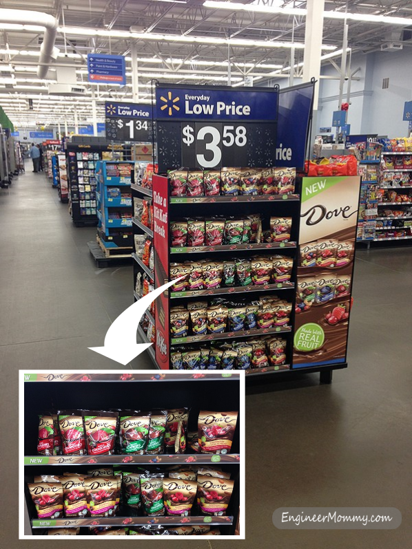DOVE® Chocolate Fruit & Nut at Walmart
