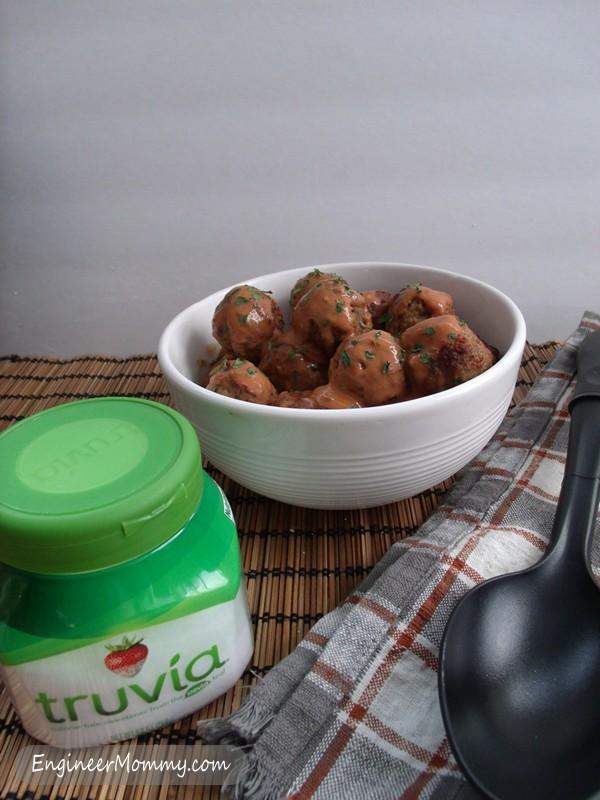 Sweet & Spicy Slow Cooker Meatballs